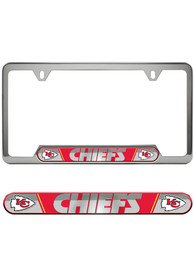 Kansas City Chiefs Universal Fit Metal License Frame