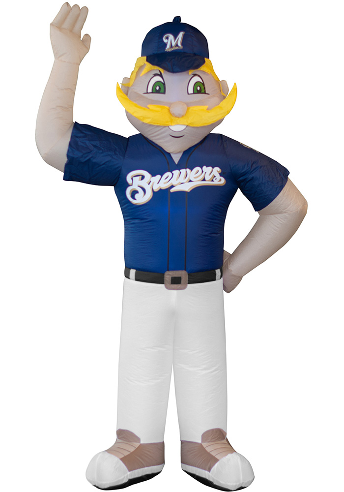 Milwaukee Brewers Blue Outdoor Inflatable 7 Ft Team Mascot - Image 1