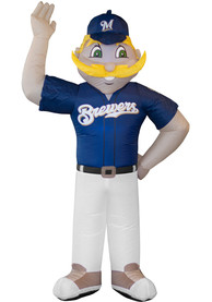Milwaukee Brewers Blue Outdoor Inflatable 7 Ft Team Mascot