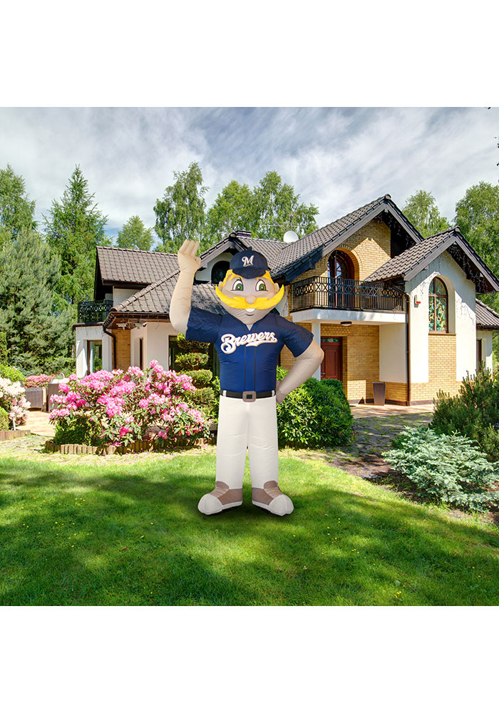 Milwaukee Brewers Blue Outdoor Inflatable 7 Ft Team Mascot - Image 2