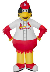 St Louis Cardinals Red Outdoor Inflatable 7 Ft Team Mascot