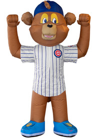 Chicago Cubs Brown Outdoor Inflatable 7 Ft Team Mascot