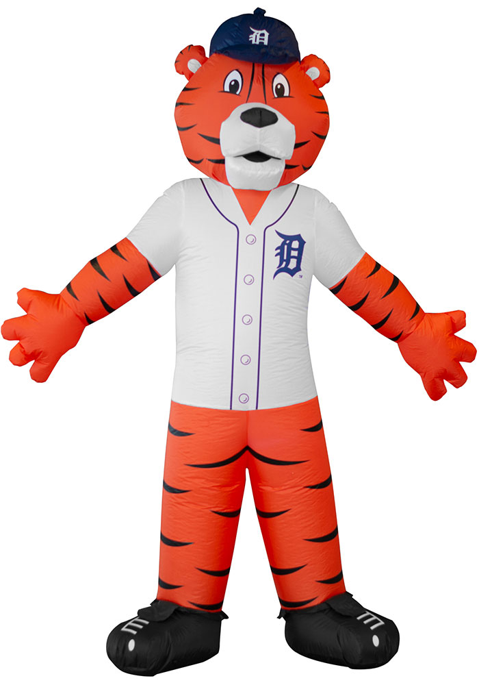 Detroit Tigers Orange Outdoor Inflatable 7 Ft Team Mascot 1380778