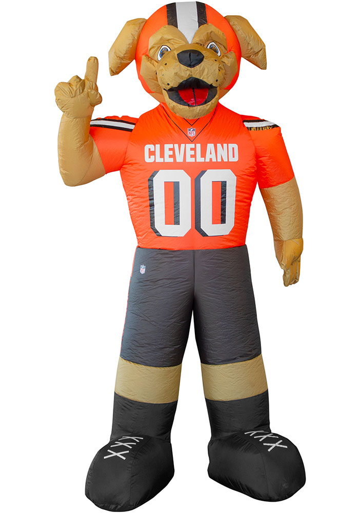 Cleveland Browns Brown Outdoor Inflatable 7 Ft Team Mascot - Image 1