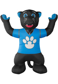 Carolina Panthers Black Outdoor Inflatable 7 Ft Team Mascot