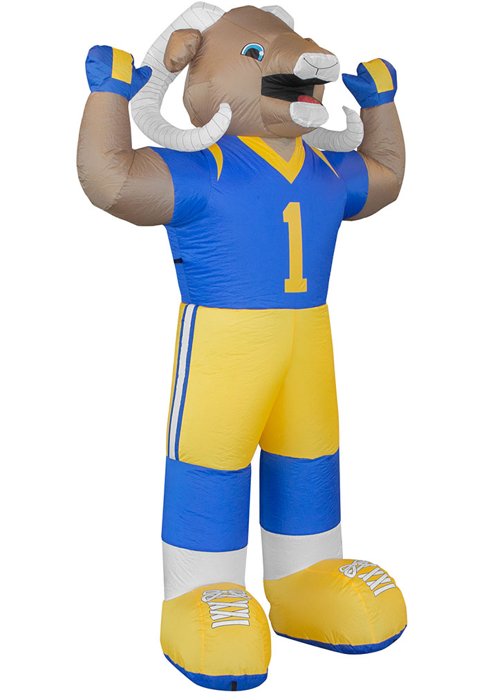 Los Angeles Rams Navy Blue Outdoor Inflatable 7 Ft Team Mascot - Image 1