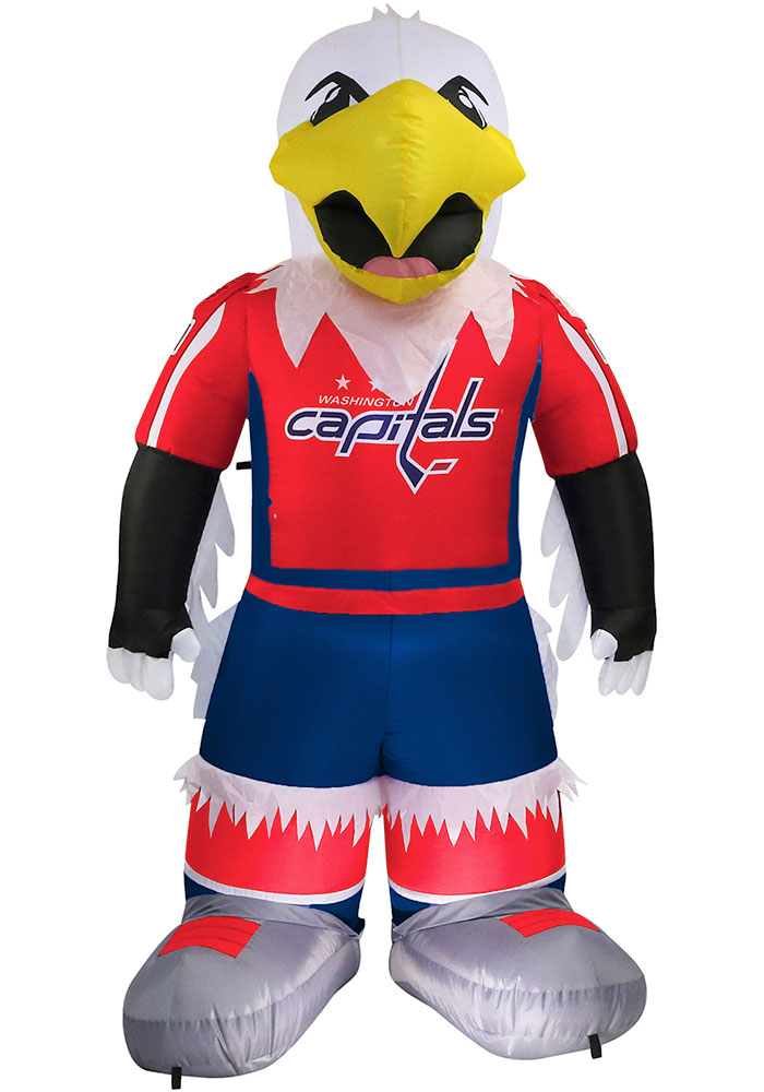 Washington Capitals Red Outdoor Inflatable 7 Ft Team Mascot - Image 1