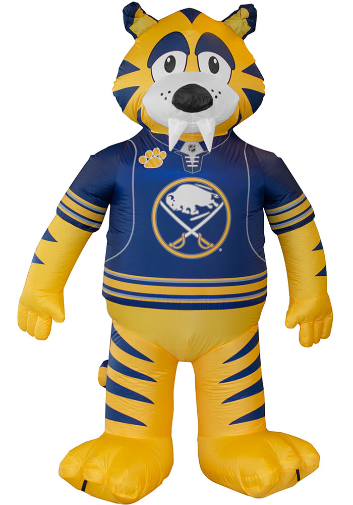 Buffalo Sabres Navy Blue Outdoor Inflatable 7 Ft Team Mascot - Image 1