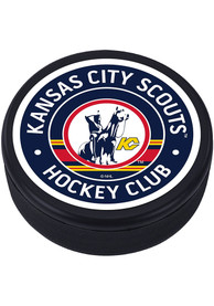 Kansas City Scouts Vintage Classic Hockey Puck