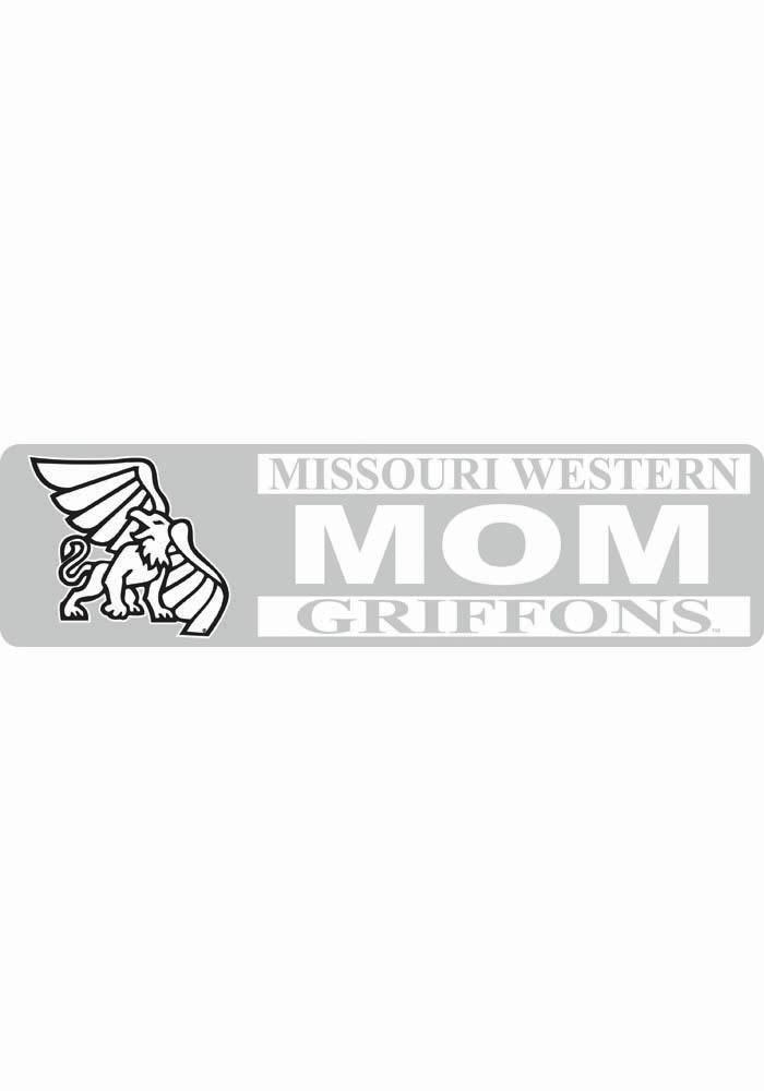 Missouri Western Griffons 3x10 White Mom Decal - Image 1