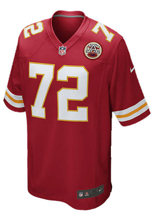 Eric Fisher Nike KC Chiefs Mens Red Game Jersey