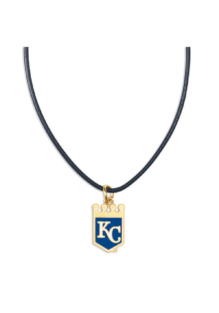 Kansas City Royals Leather Necklace - Image 1