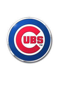 Sports Licensing Solutions Chicago Cubs Aluminum Car Emblem - Red