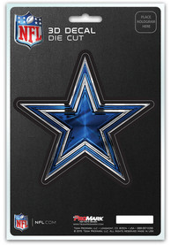 Sports Licensing Solutions Dallas Cowboys 5x7 inch 3D Auto Decal - Navy Blue