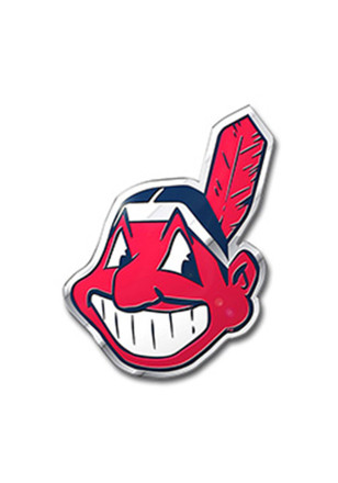Cleveland Indians Color Car Accessory Car Emblem