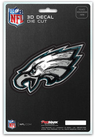 Sports Licensing Solutions Philadelphia Eagles 5x7 inch 3D Auto Decal - Green
