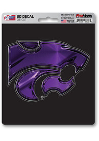 Sports Licensing Solutions K-State Wildcats 5x7 inch 3D Auto Decal - Purple