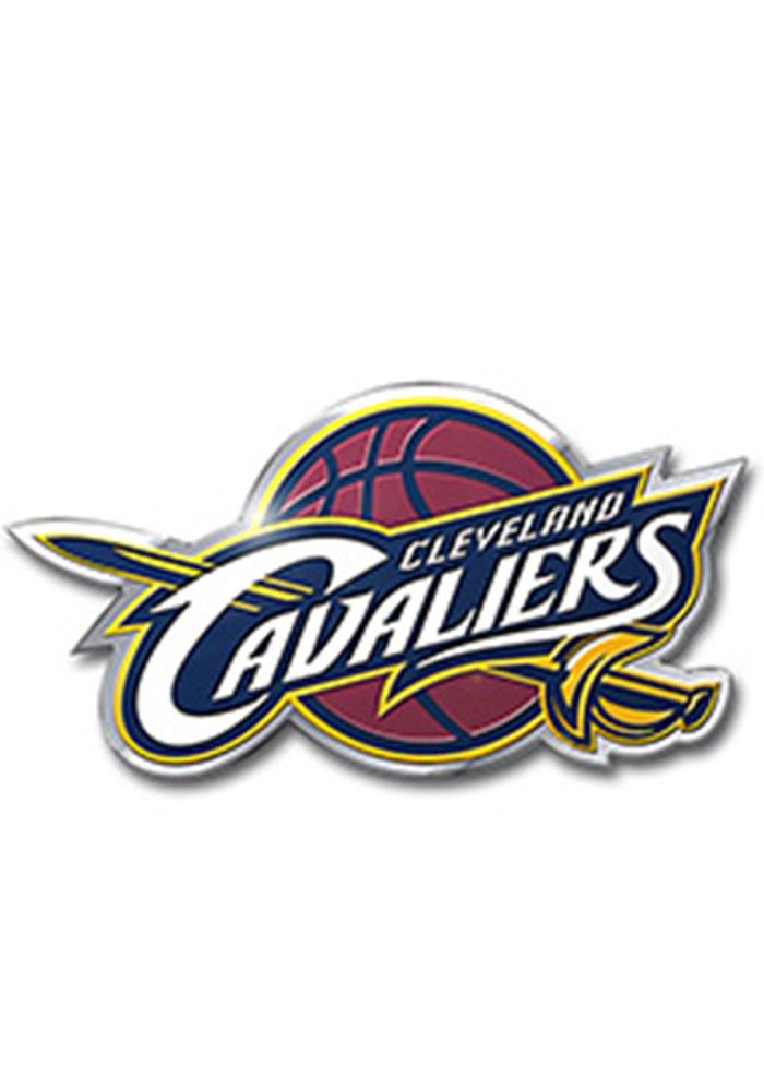 Cleveland Cavaliers Color Car Accessory Car Emblem - Image 1