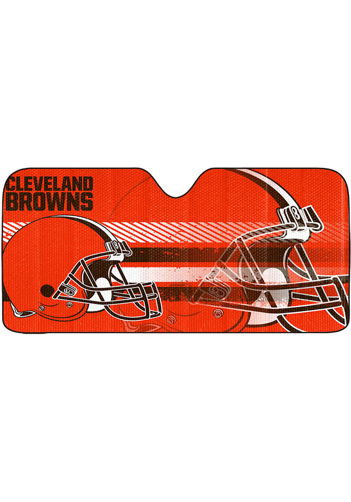 Cleveland Browns Universal Car Accessory Auto Sun Shade - Image 1