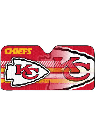 Kansas City Chiefs Universal Car Accessory Auto Sun Shade