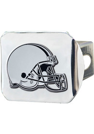 Cleveland Browns Chrome Car Accessory Hitch Cover