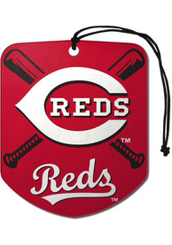 Cincinnati Reds Sports Licensing Solutions 2 Pack Shield Car Air Fresheners - Red