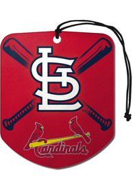 St Louis Cardinals Sports Licensing Solutions 2 Pack Shield Car Air Fresheners - Red