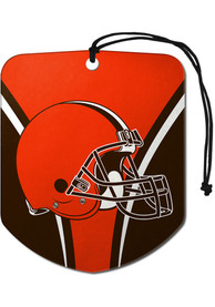 Cleveland Browns Sports Licensing Solutions 2 Pack Shield Car Air Fresheners - Orange