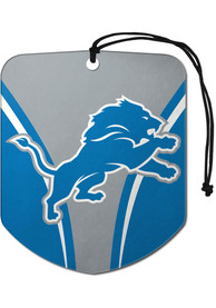 Detroit Lions Sports Licensing Solutions 2 Pack Shield Car Air Fresheners - Blue