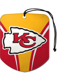Kansas City Chiefs Sports Licensing Solutions 2 Pack Shield Car Air Fresheners - Red