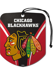 Sports Licensing Solutions Chicago Blackhawks 2pk Shield Auto Air Fresheners - Red