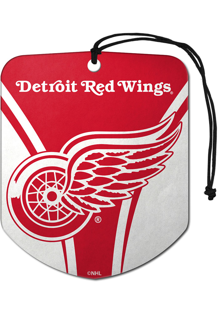Sports Licensing Solutions Detroit Red Wings 2 Pack Shield Auto Air Fresheners - Red - Image 1