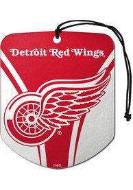 Detroit Red Wings Sports Licensing Solutions 2 Pack Shield Car Air Fresheners - Red