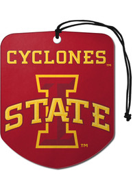 Iowa State Cyclones Sports Licensing Solutions 2 Pack Shield Car Air Fresheners - Red