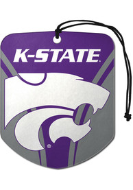 K-State Wildcats Sports Licensing Solutions 2 Pack Shield Car Air Fresheners - Purple