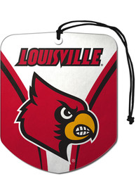 Louisville Cardinals Sports Licensing Solutions 2pk Shield Car Air Fresheners -