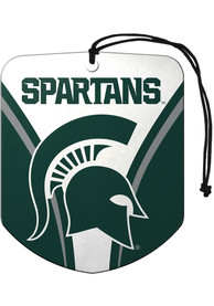 Michigan State Spartans Sports Licensing Solutions 2 Pack Shield Car Air Fresheners - Green