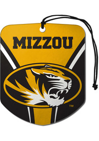 Missouri Tigers Sports Licensing Solutions 2 Pack Shield Car Air Fresheners - Black