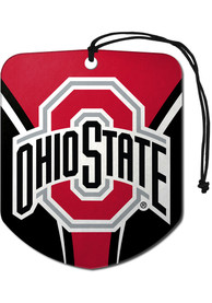 Ohio State Buckeyes Sports Licensing Solutions 2pk Shield Car Air Fresheners - Red