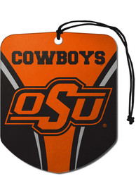 Oklahoma State Cowboys Sports Licensing Solutions 2 Pack Shield Car Air Fresheners - Orange