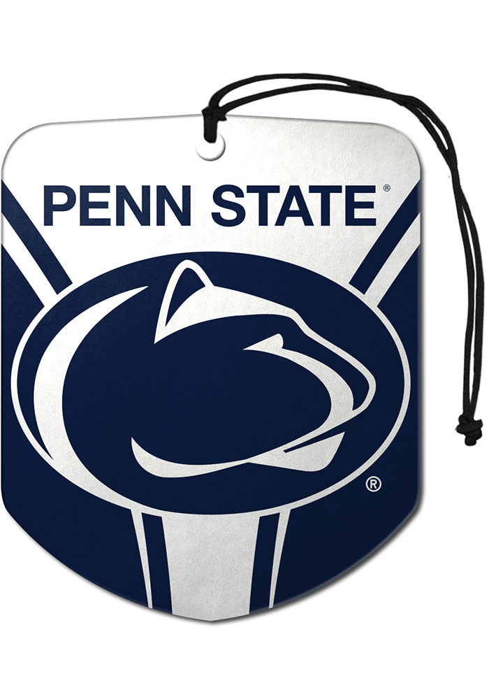 Sports Licensing Solutions Penn State Nittany Lions 2pk Shield Auto Air Fresheners - Navy Blue - Image 1