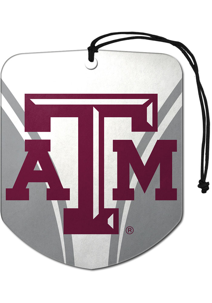 Sports Licensing Solutions Texas A&M Aggies 2 Pack Shield Auto Air Fresheners - Maroon - Image 1
