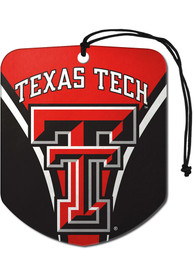 Texas Tech Red Raiders Sports Licensing Solutions 2pk Shield Car Air Fresheners - Red
