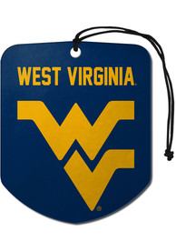 West Virginia Mountaineers Sports Licensing Solutions 2 Pack Shield Car Air Fresheners - Gold