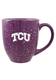 TCU Horned Frogs 16oz Speckled Mug
