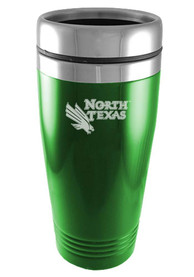 North Texas Mean Green 16oz Stainless Steel Green Travel Mug