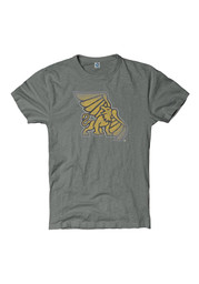 Missouri Western Griffons Grey Roster Fade Out Tee