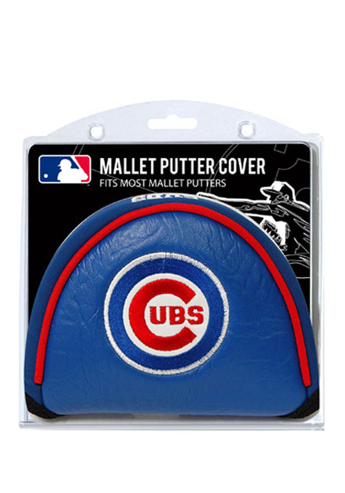 Chicago Cubs Blue Mallet Putter Cover - Image 1