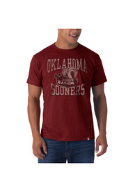 47 Oklahoma Sooners Crimson Flanker Fashion Tee