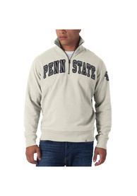 47 Penn State Nittany Lions White Arch 1/4 Zip Fashion Pullover